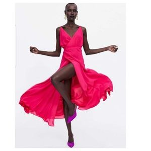 Zara limited edition wrap dress (2731)